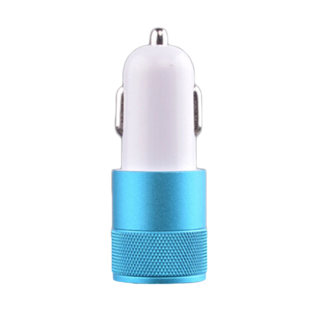 Small steel gun car cable sockets Car usb charger for phone Car Cigarette lighter and adapters Practical Car Styling