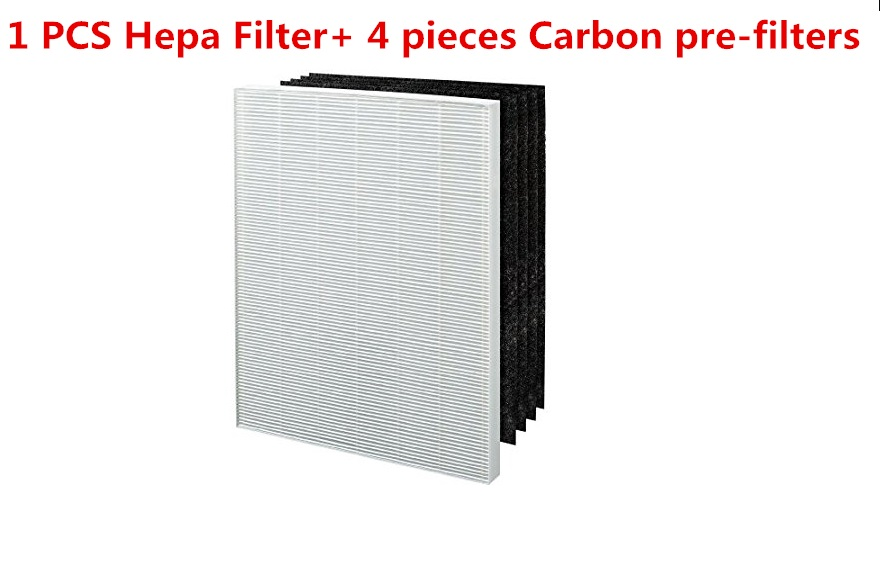 High Quality True HEPA Plus 4 Replacement Filter for Winix 115115 5300 5500 6300 Size 21 Hepa Filter with 4 pieces Carbon pre-fi winix 2020eu