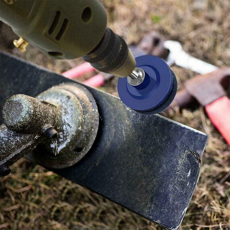 50 мм вал установлен газон точилка для косилки OD 50 мм нож заточка абразивная колесная дрель инструмент