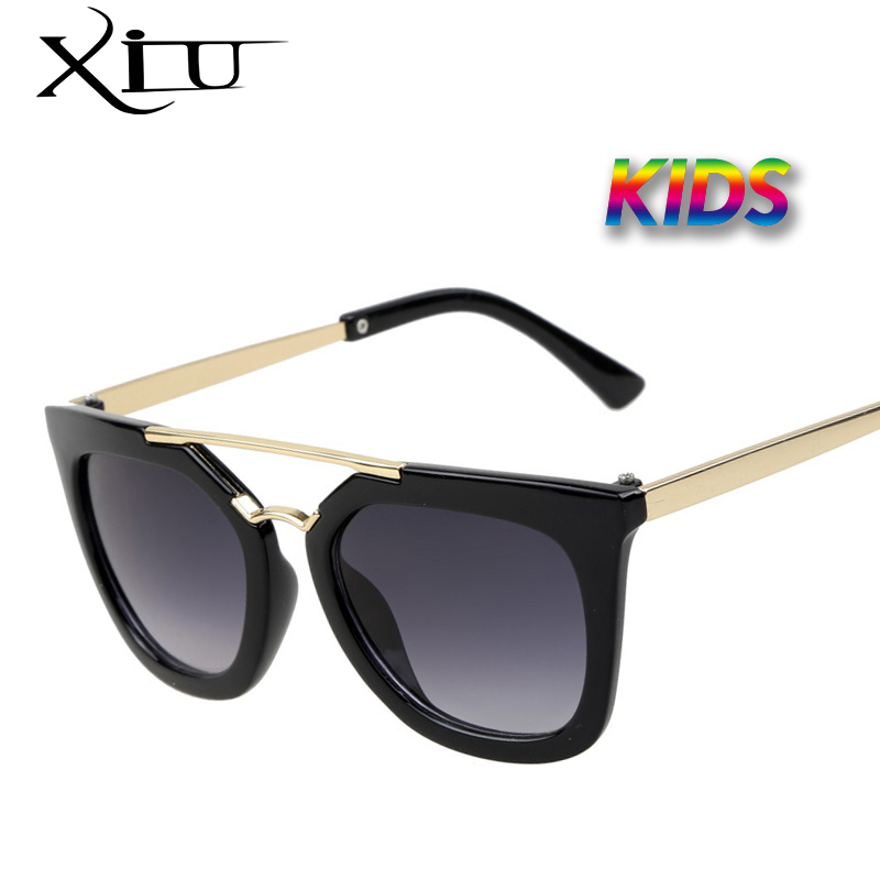 XIU Vintage Kids Sunglasses  Brand Sun glasses Children Glasses Cute Designer Fashion Oculos De Sol Infantil Hipster ralferty tr90 flexible kids sunglasses polarized child baby safety coating sun glasses uv400 eyewear shades infant oculos de sol