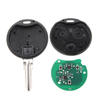 AUTO 3 Button Car 433MHz Remote Key Fob Blade For Smart Fortwo Forfour City Roadster