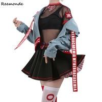 Boku No Hero Academia Ochaco Uraraka Cosplay Costume My Hero Academia Coat Skirt Full Set Synthetic Wigs For Girl Women Clothing