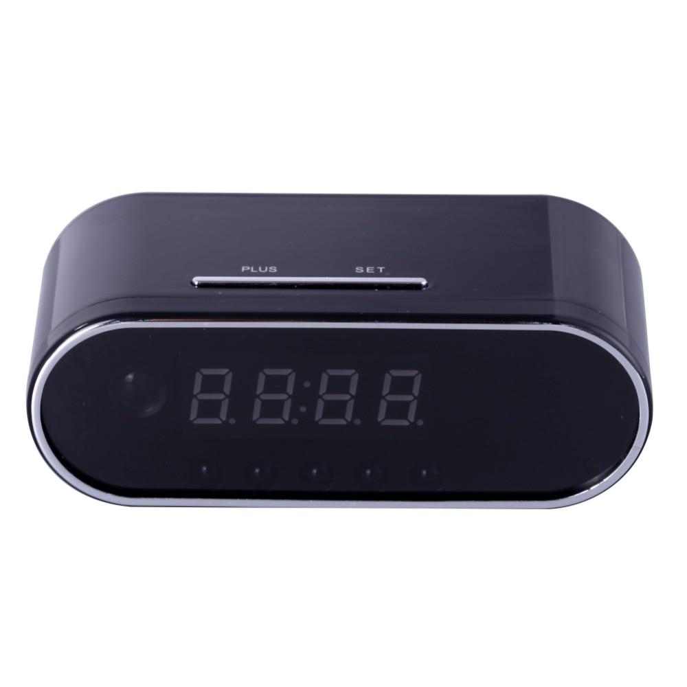 EDAL 1080P H.264 Table Clock Camera Alarm Setting Mini Camera IR Night Vision Wifi Cam IP Clock Camera Mini DV DVR Camcorder ho