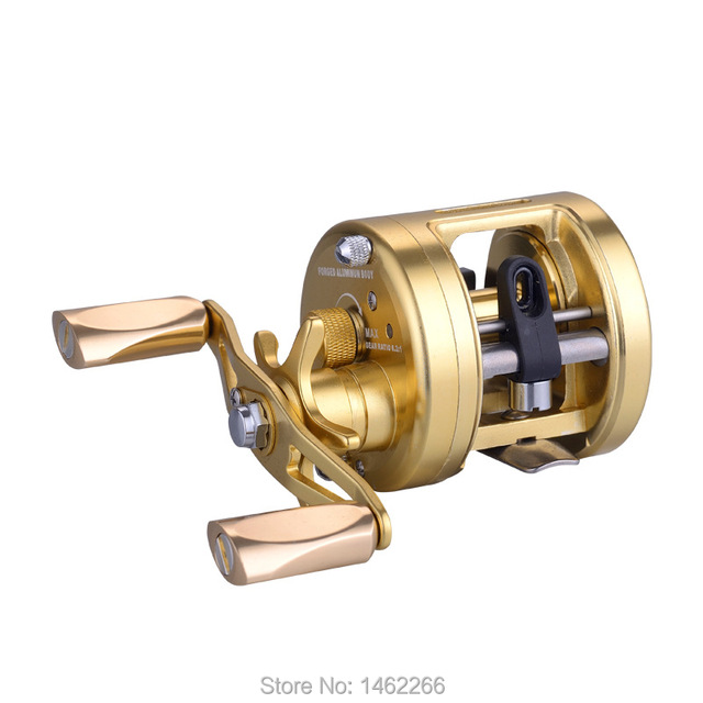 WOEN H200R full metal Sea fishing wheel Centrifugal brake 7+1RB Anti seawater Boat fishing Drum wheel Speed ratio: 6.2:1