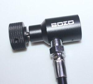 Image 5 - Airsoft PCP marker Paintball Coil Hose Remote linea Spessa 2.5 CON Scivolo Check accessori di paintball Nuovo
