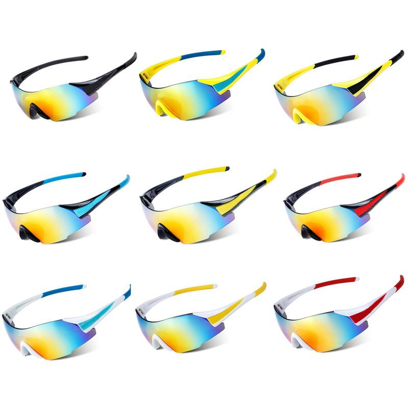 New Unisex Outdoor Cycling Glasses Outdoor Sports Mountain Bike Ridding Sunglasses Skiing Goggle Windproof Equipment|Cycling Eyewear|   - title=