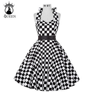 top 10 most popular dress big swing polka dot backless rockabilly list b12ef4ba7fa3