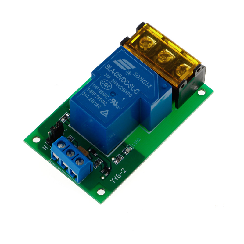 1 Channel 5V 30A Relay Board Module Optocoupler Isolation High/Low Trigger New 1pc 12v 4 channel relay module with optocoupler isolation supports high low trigger 828 promotion