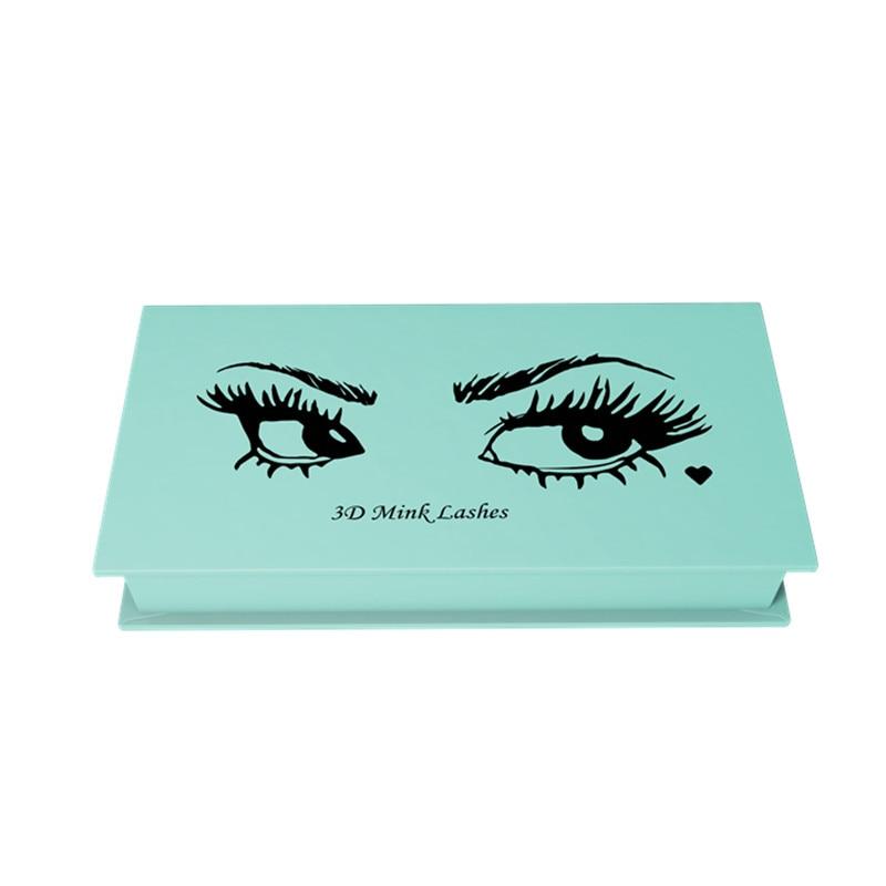 Mangodot False Eyelash box Customize Storage Box 500 Pcs Makeup Cosmetic Magnetic Eye Lashes Cases Organizer Color Makeup Tools sencart e14 3w white light cob led spot light 150lm 5900 6200k