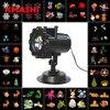 Kmashi Snowflake Projector Lights Outdoor LED Laser Stage Chrismas Halloween Decoration Light For DJ Bar Party