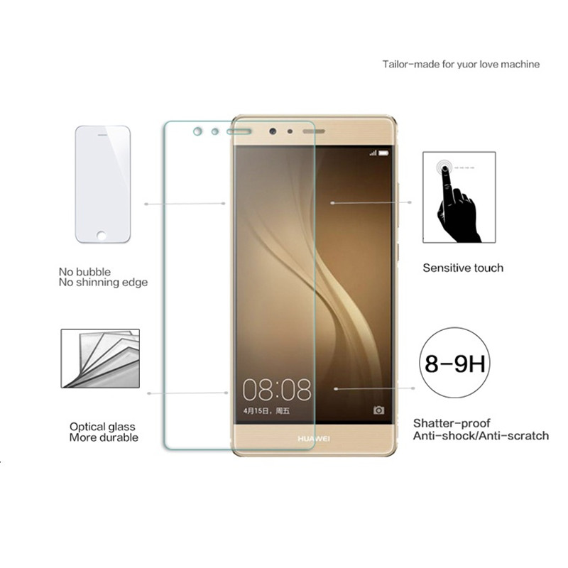 Xxins retail packing Tempered Glass For Huawei P9 lite smartphone Mobile Phone Protector Film For P9mini G9 Venus VNS TL00 in Phone Screen Protectors from Cellphones Telecommunications