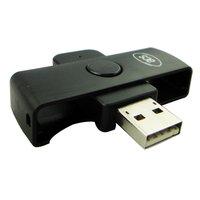 Portable Smart Card Reader USB ACR38U N1 CAC Common Access Writer ID SCM Fold