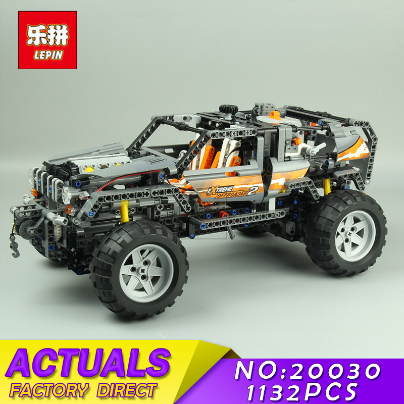 Technic Ultimate Series LEPIN 20030 1132Pcs The Off-Roader Set Children Educational Building Blocks Bricks Toys Model Gifts 8297 20030 technic ultimate series the off roader set children building blocks brick toy model gifts competible with legoingly 8297