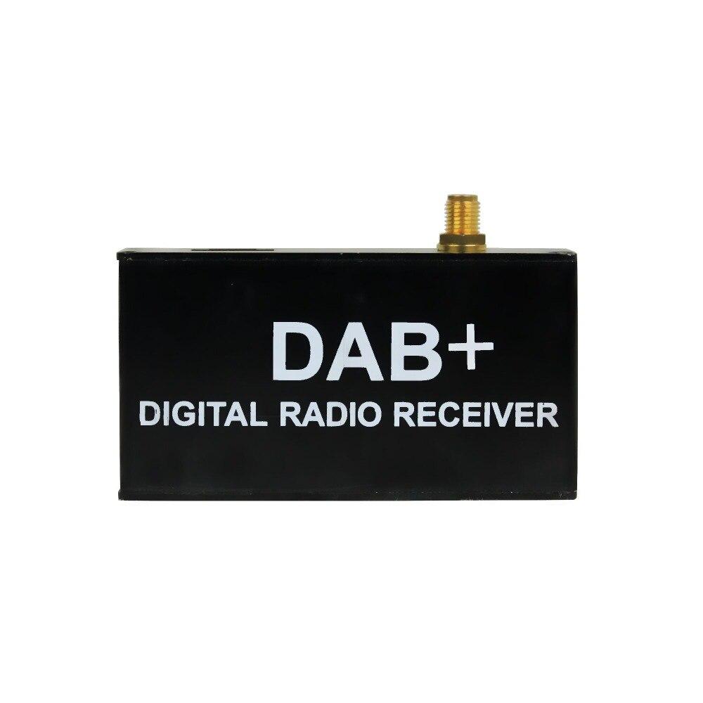 Digital Car Kit DAB+ Radio Receiver Adapter Audio Broadcast Antenna for Belsee digital radio receiver dab dab radio tuner antenna for android car dvd player for digital audio broadcast receiver styling