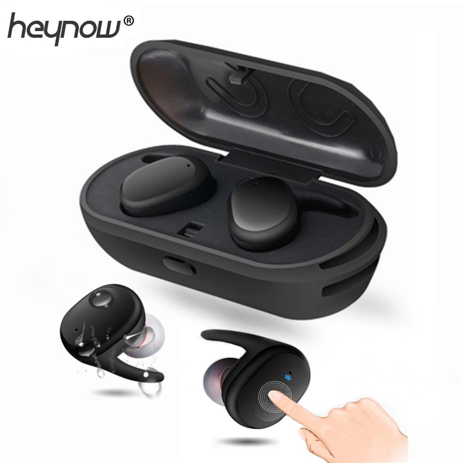 Twins Wireless Bluetooth Earphone Waterproof Wireless Headset In Ear Sport Earphones Mini Earbuds With Micphone For Ip7 Samsung Bluetooth Earphone Waterproof Sport Earphoneearphone Waterproof Aliexpress