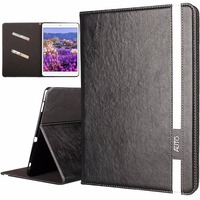 Luxury Genuine Book Flip PU Leather Cover Magnetic Wallet Case With Stand And Card Slots Case