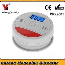 Yobang охранный ЖК-датчик газа CO датчик угарного газа детектор сигнализации беспроводной детектор утечки ядовитого газа CO детектор