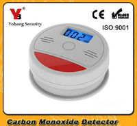 FDL LCD Independent CO Gas Sensor Carbon Monoxide Poisoning Alarm Detector Wireless Poisonous Gas Leak Detector