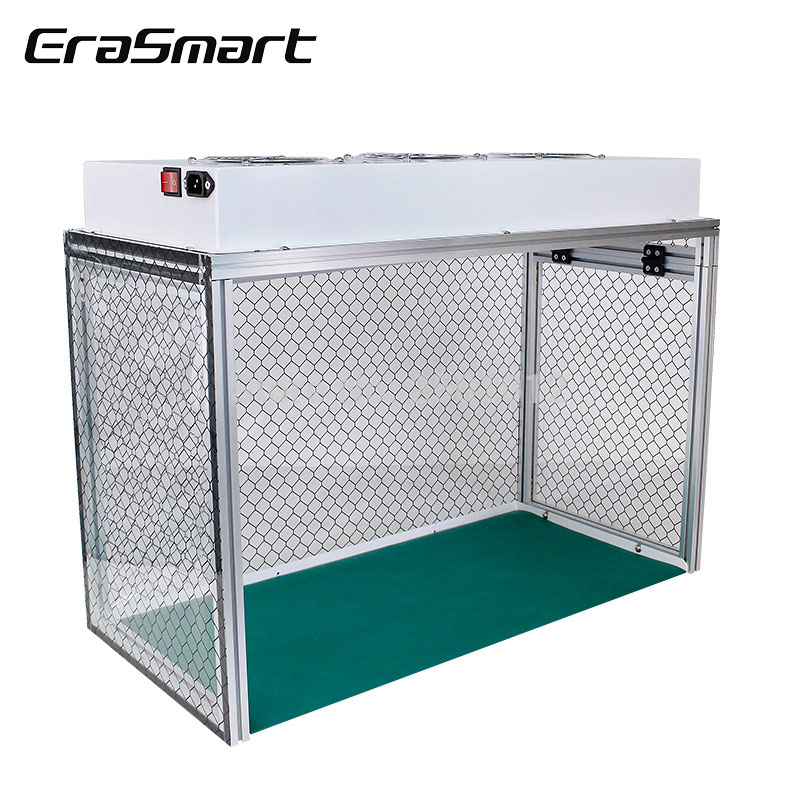Dust Free Room Mini FFU Work Table Phone LCD Repair Machine Cleaning Room With Mat Tools 220V/110V repair tools EraSmart|Power Tool Sets| |  - title=