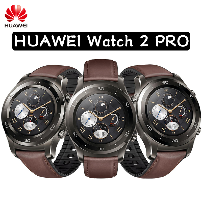 Original HUAWEI Watch 2 Pro Support LTE 4G Phone Call For Android iOS with IP68 Waterproof