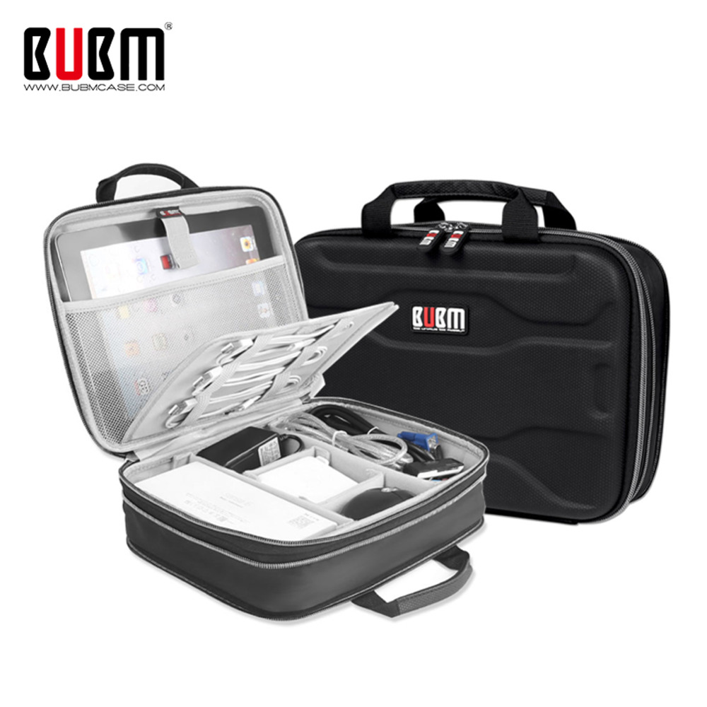 Bubm Capacity Expansion Electronics Travel Organizer