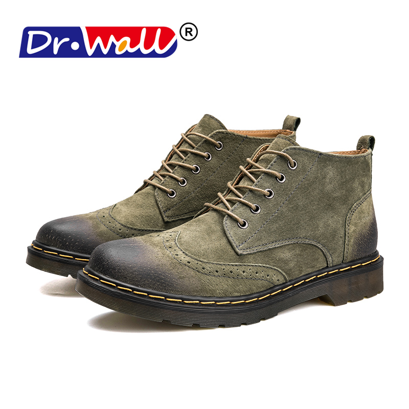Martin Boots Men'S Shoes Autumn And Winter Boots In The High-Top Desert Boots Leather Boots 2018 New Wild England Wind Male спортивная куртка lotto ejde031 3