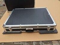 custom Aluminum alloy tool case equipment suitcase 700 *600* 100 mm ( with custom EVA foam) 4pcs