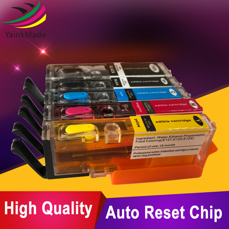 5PK uitstekende kwaliteit Bijgevulde inktcartridge voor Canon PGI550 - Office-elektronica