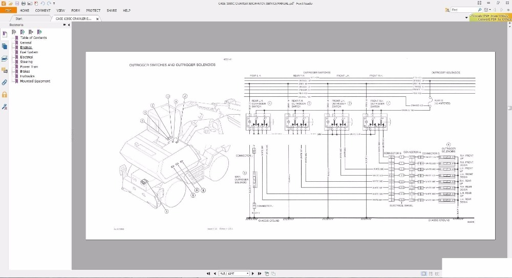 case crawler excavators service manual operators manual schematic rh aliexpress com House 988 Caterpillar 988F