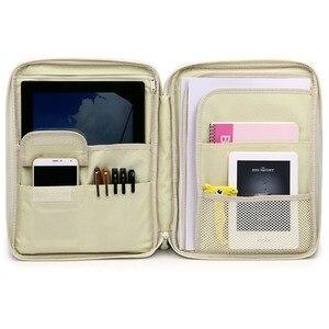 Image 5 - 防水 A4 ファイルオーガナイザーノートブックバッグ雑誌帳フォルダセットドキュメント男性の女性オフィスビジネスバッグ