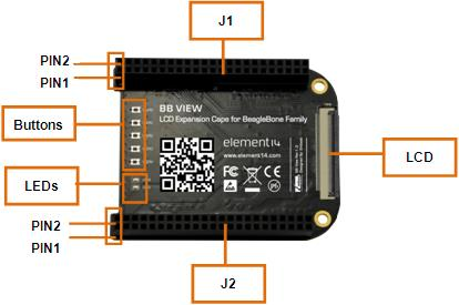 Free Shipping   BB-VIEW Extension Module BeagleBone A New Generation Of BB-Black Development Board