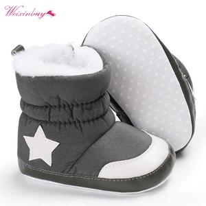 c6c3ccaa83f4e4 WEIXINBUY Kids Winter Shoes Infant Toddler Snow Boots Booty