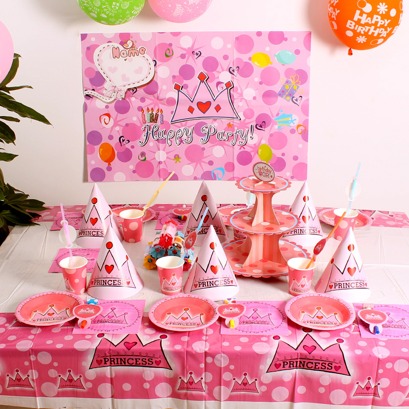 Six People Set Meal Adult Age Baby Birthday Supplies