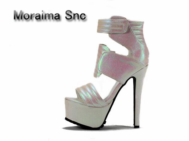 Moraima Snc Punk sandals women summer sexy Leopard platform shoes high quality 16 cm extreme high heels shoes women sandals 2018Moraima Snc Punk sandals women summer sexy Leopard platform shoes high quality 16 cm extreme high heels shoes women sandals 2018