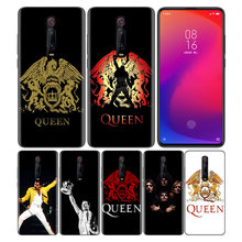 Phone Pattern Black Rubber Soft Silicone Case Bag Cover for Redmi 7A Note 7 6 7S Y3 K20 Pro Core Shell Fundas Queen Rock Group(China)