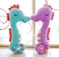 43 см творческий бегемота плюшевые игрушки кукла, sea horse плюшевые игрушки морской конек бросить подушку подушки подарок на день рождения