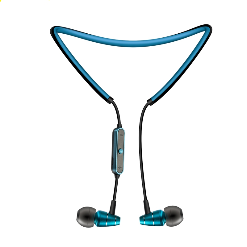ABAY 780 Metal Magnetic Bluetooth Earphone Neckband Sports Wireless Headphone Headset Bass Earbuds For Xiaomi iPhoneWith MIC