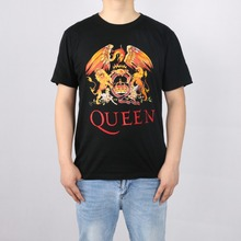 Music Rock Top100 Band Queen t-shirt Male short-sleeve New Arrival Fashion Brand T Shirt For Men