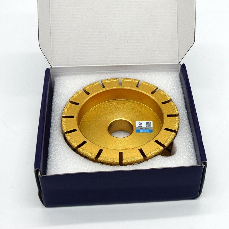 RIJILEI 140mm Pájení diamantů Mramorové brusné kotouče s - Elektrické nářadí - Fotografie 5