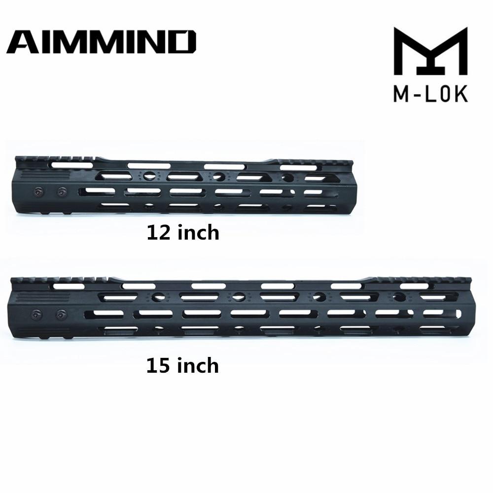 .223//5.56 12 Inch Super Slim Keymod Free Float HandGuard w// Steel Barrel Nut