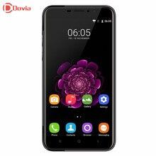 Яркие черные oukitel u20 плюс 4 г смартфон 5.5 дюймов mtk6737 Quad Core 2 ГБ RAM 16 ГБ ROM 0.3MP 5.0MP + 13.0MP Камеры Мобильного телефон