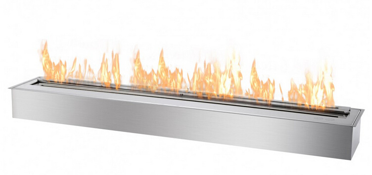 On Sale 120cm Stainless Steel  Ethanol Burner Fireplace Outdoor