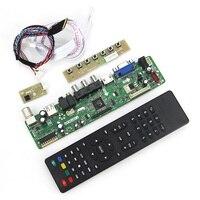 (TV + HDMI + VGA + CVBS + USB) Için LP173WD1 (TL) (A2) N173O6-L02 T. VST59.03 LCD/LED Denetleyici Sürücüsü Kurulu LVDS Yeniden Dizüstü 1600x900