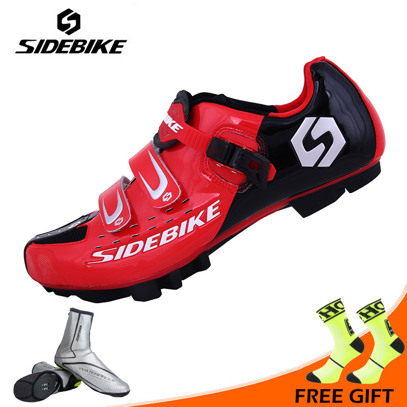 Sidebike Men Cycling Shoes Professional MTB Bike Shoes Breathable Self-locking Bicycle Boots Non-slip Shoes Zapatillas ciclismo racmmer cycling gloves guantes ciclismo non slip breathable mens