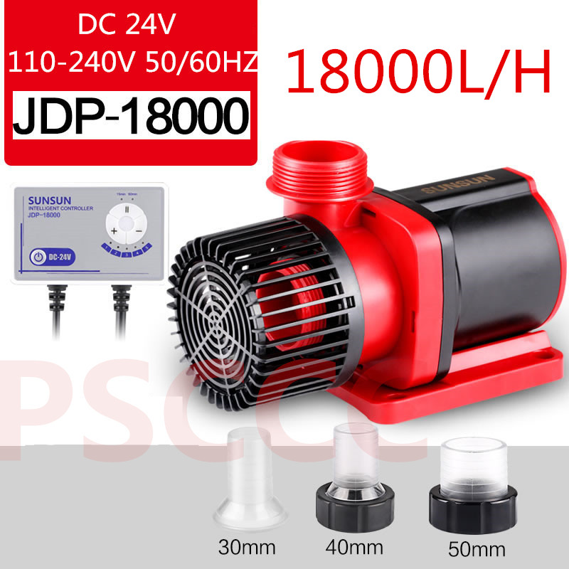 SUNSUN DC variable frequency water pump flow adjustable submersible pump high lift fish tank silent pump