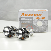 Aozoom New Arrival Mini 1.8 2.0 HID Bi Xenon Headlight Project lens H1 Car Stylning Motorcycle for LHD and RHD