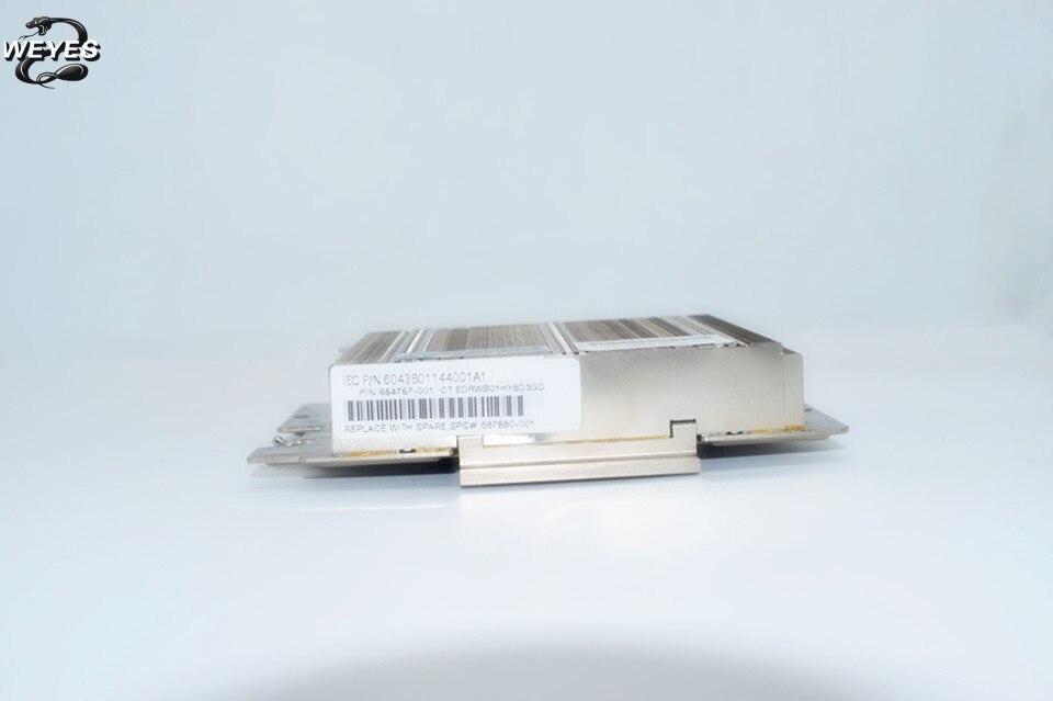 654757-001 667880-001 670521-001 665091-001 pour DL360p Gen8 Bas de Gamme Profil Radiateur 95% nouveau