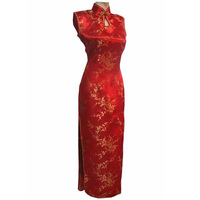 Summer New Arrival Chinese Traditional Cheongsam Top Women S Evening Gown Dress Long Silk Qipao S