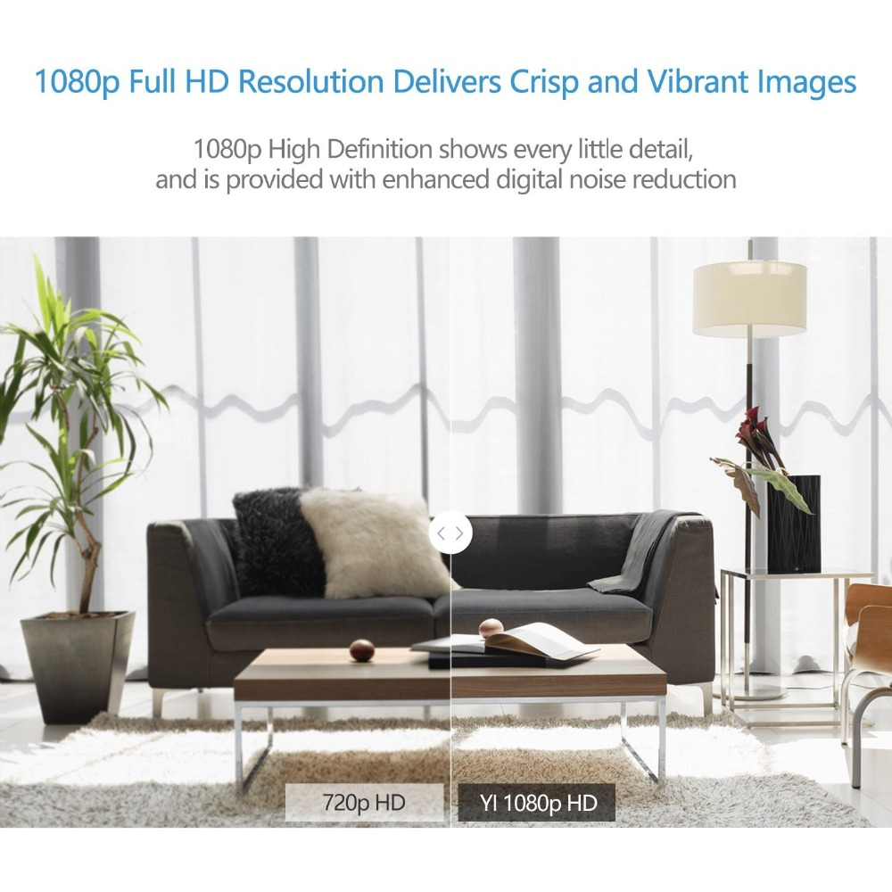 YI 1080p Home Camera Indoor IP Security Surveillance System with Night Vision for Home Office Baby YI 1080p Home Camera Indoor IP Security Surveillance System with Night Vision for Home/Office/Baby/Nanny/Pet Monitor YI Cloud