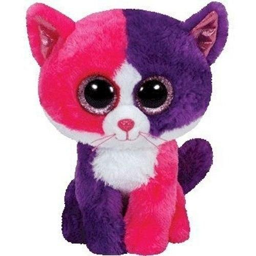 6 15 см Beanie Боос большие Средства ухода для век плюшевые игрушки куклы эксклюзивный pellie розовый и фиолетовый Кот подарок для маленьких детей...